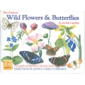 Mariposas y Flores Silvestres - Wild Flowers & Butterflies playing cards