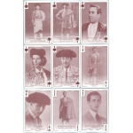Galería de Toreros de Antaño - Old Bullfighters Gallery playing cards