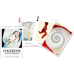Georgia O'keeffe American Modernist playing cards