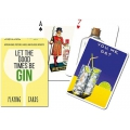 Let the good time be Gin piatnik playing cards - Baraja Ginebras