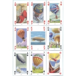 Globos - Hot-air Balloons playing cards
