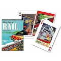 Glory Days of Rail playing cards - Días de Gloria de los Trenes