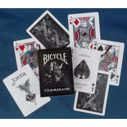 Guardians Bicycle playing cards