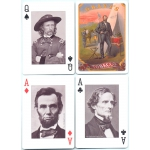 Guerra Civil Americana - American Civil War playing cards