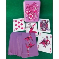 Harley Quinn Vintage Tin Box playing cards