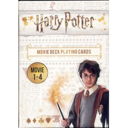 Harry Potter movies 1-4 playing cards