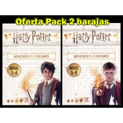 Harry Potter pack 2 decks movies 1-8