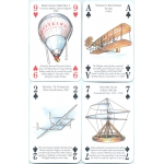 Historia del Transporte por Aire - History of Transport by Air playing cards