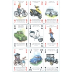 Historia del Transporte por Carretera - History of Transport Overland playing cards