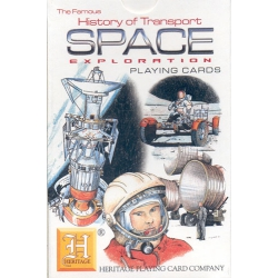 Historia del Transporte Espacial - History of Transport Space Exploration playing cards