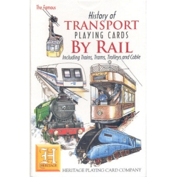 Historia del Transporte por Rail - History of Transport by Rail playing cards