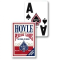 Hoyle Super Jumbo Bridge Red deck playing cards