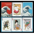 Japanese Prints playing cards - Impresiones Japonesas Piatnik