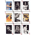 Swing & Jazz Legends playing cards