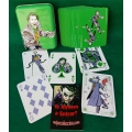 Joker Vintage Tin Box playing cards
