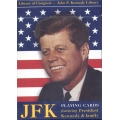 John F. Kennedy JFK playing cards