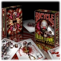 Killer Clowns Bicycle playing cards