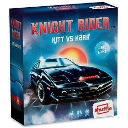 Knight Rider Kitt vs Karr - El Coche Fantástico card Retro Game Shuffle Cartamundi