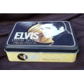 Baraja Elvis Presley en lata - Tin playing cards