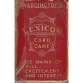 Lexicon Card Game
