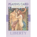 Liberty Mucha playing cards