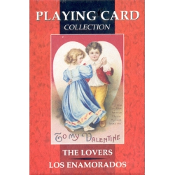 Los Enamorados - The Lovers Poker playing cards Lo Scarabeo