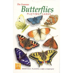 Mariposas - Butterflies playing cards