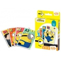Shuffle Minions The Rise of Gru 4 juegos en 1 Illumination Cartamundi