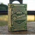 Monarchs Green Theory11 USA playing cards