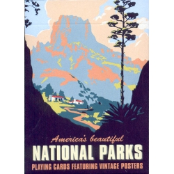 Parques Nacionales - America's beautiful National Parks playing cards