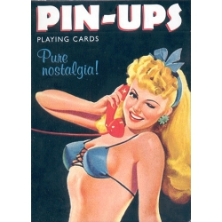 Pin-Ups playing cards