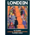 Póster Transporte de Londres - London playing cards