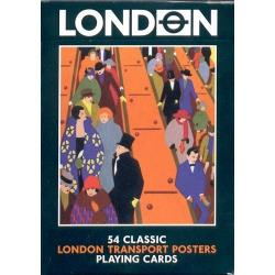 Póster Transporte de Londres - London playing cards