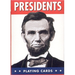 Presidentes americanos - U.S. Presidents playing cards