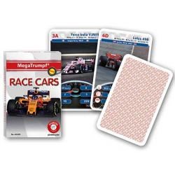 Race Cars Megatrumpf playing cards - Coches de Carreras