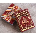 Red Castle Bicycle playing cards