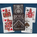 Bicycle Robocycle Negra - Black playing cards
