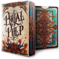 Royal Pulp Red back deck playing cards