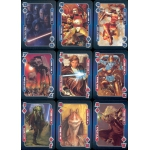Star Wars Goods vs Evil - Saga Completa playing cards