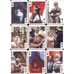 Star Wars Classic Trilogy Episodes IV, V and VI playing cards