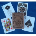 Steam Punk Bicycle Bronce playing cards