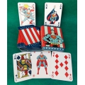 Superman Vintage Tin Box playing cards