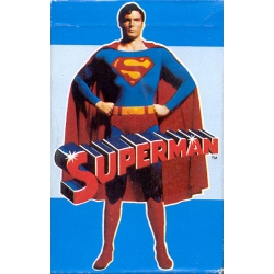 Superman Fournier playing cards
