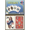 Sweden playing cards