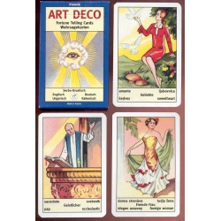 Cartas Adivinatorias Art Deco