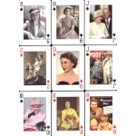 Her Majesty - The Queen playing cards