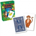 The starving Monkey Trick Bicycle playing cards - Truco Mono Hambriento