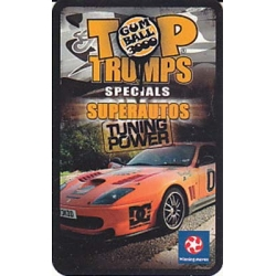 Superautos Tuning Power Special Top Trumps