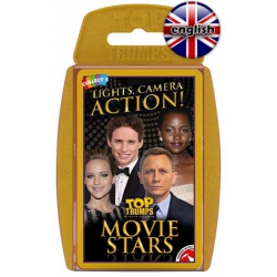 Movie Stars Card Game Top Trumps