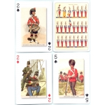 Uniformes Militares - Dressed of war playing cards